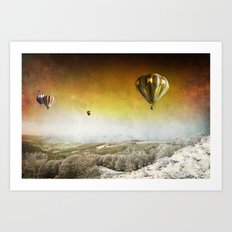 Winter Magic II Art Print
