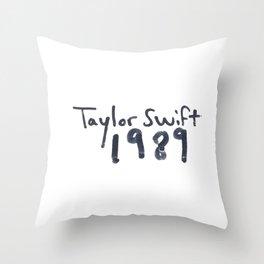 TS 1989 Throw Pillow