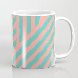 Retrocamp, Pink and Mint Coffee Mug