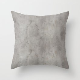 Dirty Bare Concrete Throw Pillow