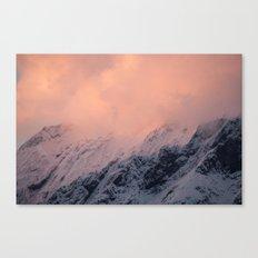 Mount Aspiring Sunset Canvas Print