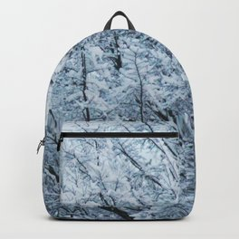 Ice Touched Tree Top Backpack