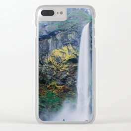 Free Fall Clear iPhone Case