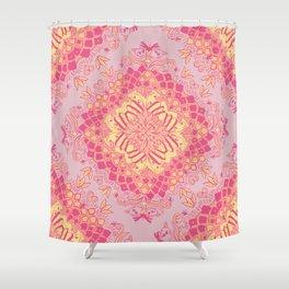 Love Butterfly Pattern Shower Curtain