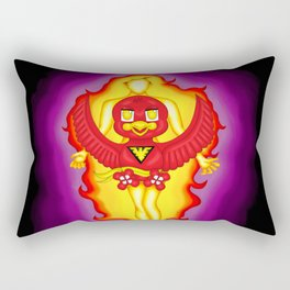 Dark Phoenix Bird Rectangular Pillow