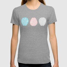Pastel Brains Pattern T-shirt