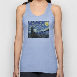 The Starry Night by Vincent van Gogh Unisex Tank Top