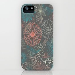 Grey Dreams iPhone Case