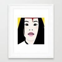 kill bill Framed Art Prints featuring Kill Bill by Brettmatic