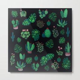 green tropical vibes Metal Print