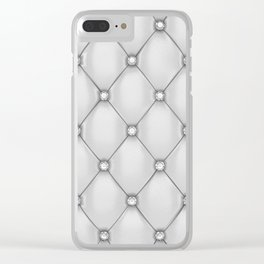 Upholstery Clear iPhone Case