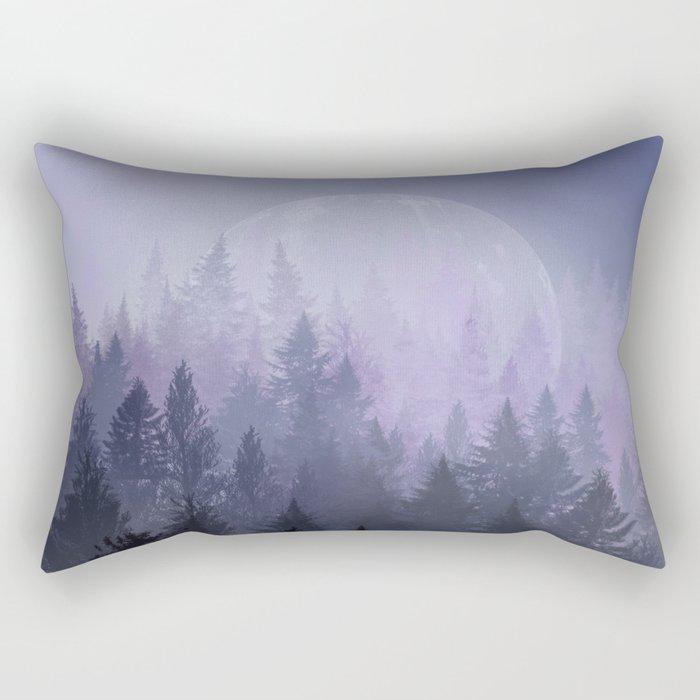 fantasy forest 2 Rectangular Pillow