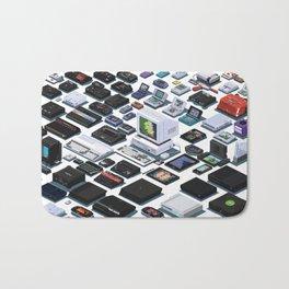 A Pixel Retrospective 2 Bath Mat