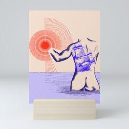 Naked tattoo Mini Art Print