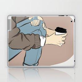 Fashion Latte To Go Laptop & iPad Skin