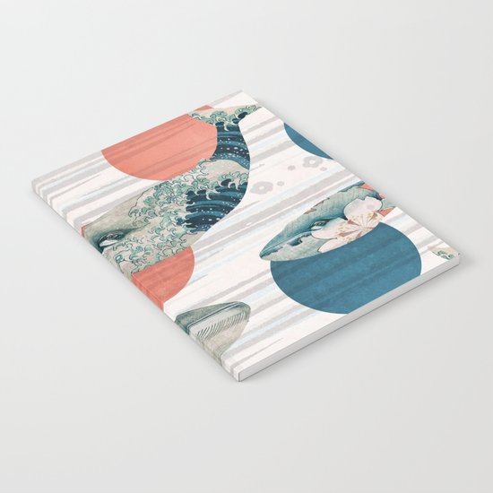 Whales and Polka Dots Notebook