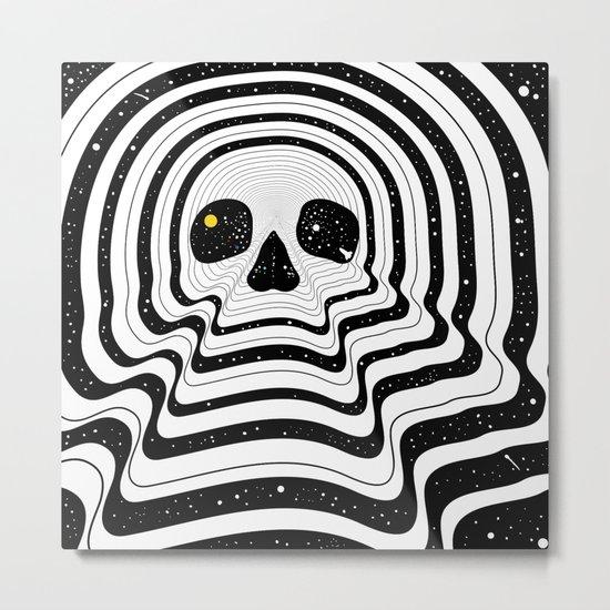Blackout Metal Print