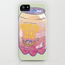 Lucky Feelings iPhone Case