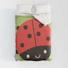 Kawaii Ladybird Duvet Cover