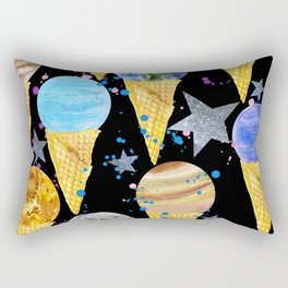 Univers with Planet of the solar system. Rectangular Pillow