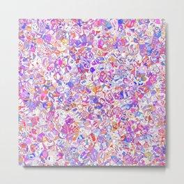 Pink fanny mozaic Metal Print