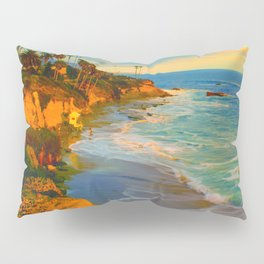Laguna Beach California Pillow Sham
