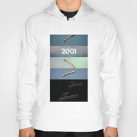 2001 a space odyssey Hoodies featuring 2001: a space odyssey by Lucas Preti