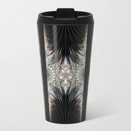 Floral Curtains Travel Mug