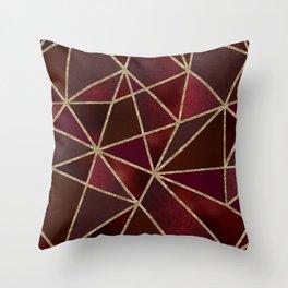 Ruby Throw Pillow