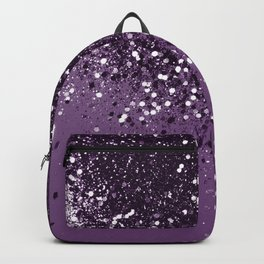 PURPLE Glitter Dream #1 #shiny #decor #art #society6 Backpack