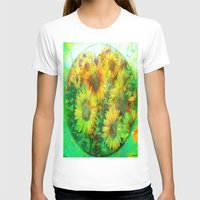 sunflower T-shirts featuring Sunflower by Ganech joe
