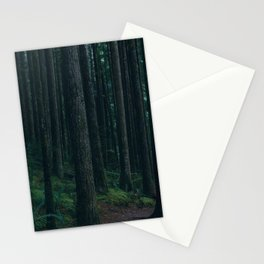 Forest mood Stationery Cards