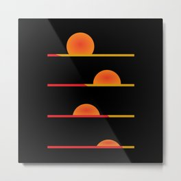 Sunrise #society6 #decor #buyart #artprint Metal Print