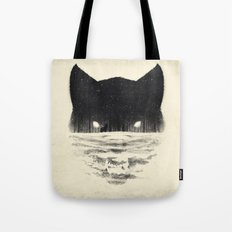 Wolfy Tote Bag