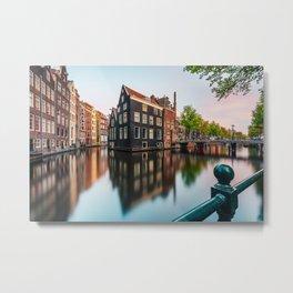 Amsterdam Sunset Metal Print