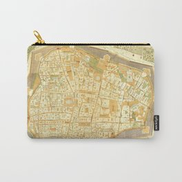 Vintage Map of Vienna Austria (1547) Carry-All Pouch