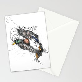 Coming in Hot Stationery Cards