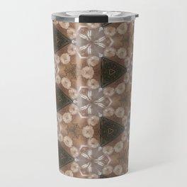 Flowers around Travel Mug