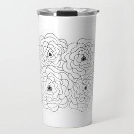 Cabbage Roses Travel Mug