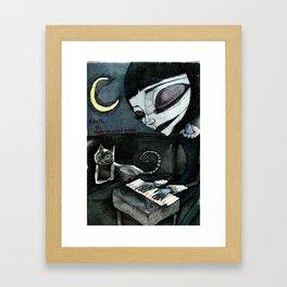 on the summer solstice Framed Art Print