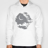 death star Hoodies featuring Death Star by Krakenspirit