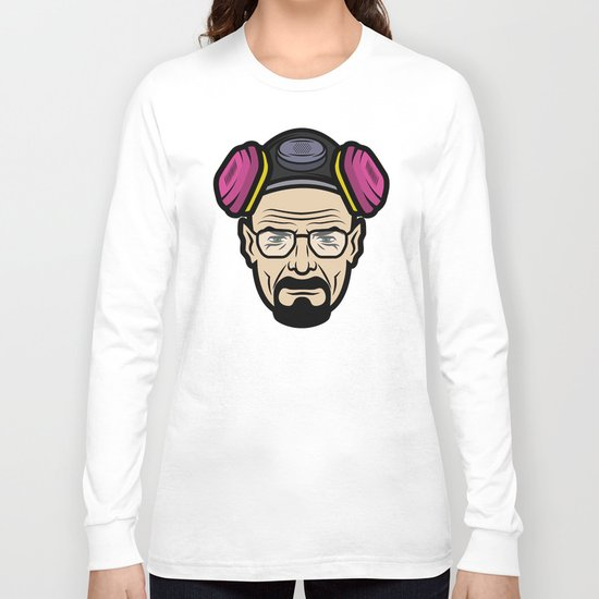 Walter White (Breaking Bad) Long Sleeve T-shirt