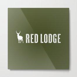 Deer: Red Lodge, Montana Metal Print
