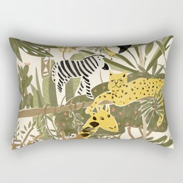 Th Jungle Life Rectangular Pillow
