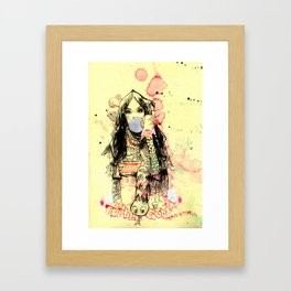Bubble Gum Bandits Framed Art Print