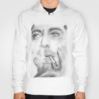robert downey jr Hoodies featuring Robert by S'ANNie