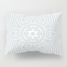 Z Lace 2A - Light Grey Pillow Sham