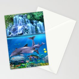 The Dolphin Family Stationery Cards