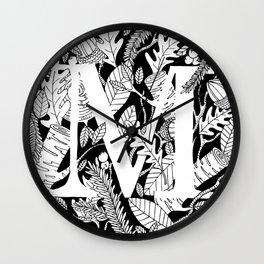 Woodsy M Wall Clock