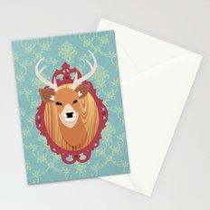 deer head Stationery Cards